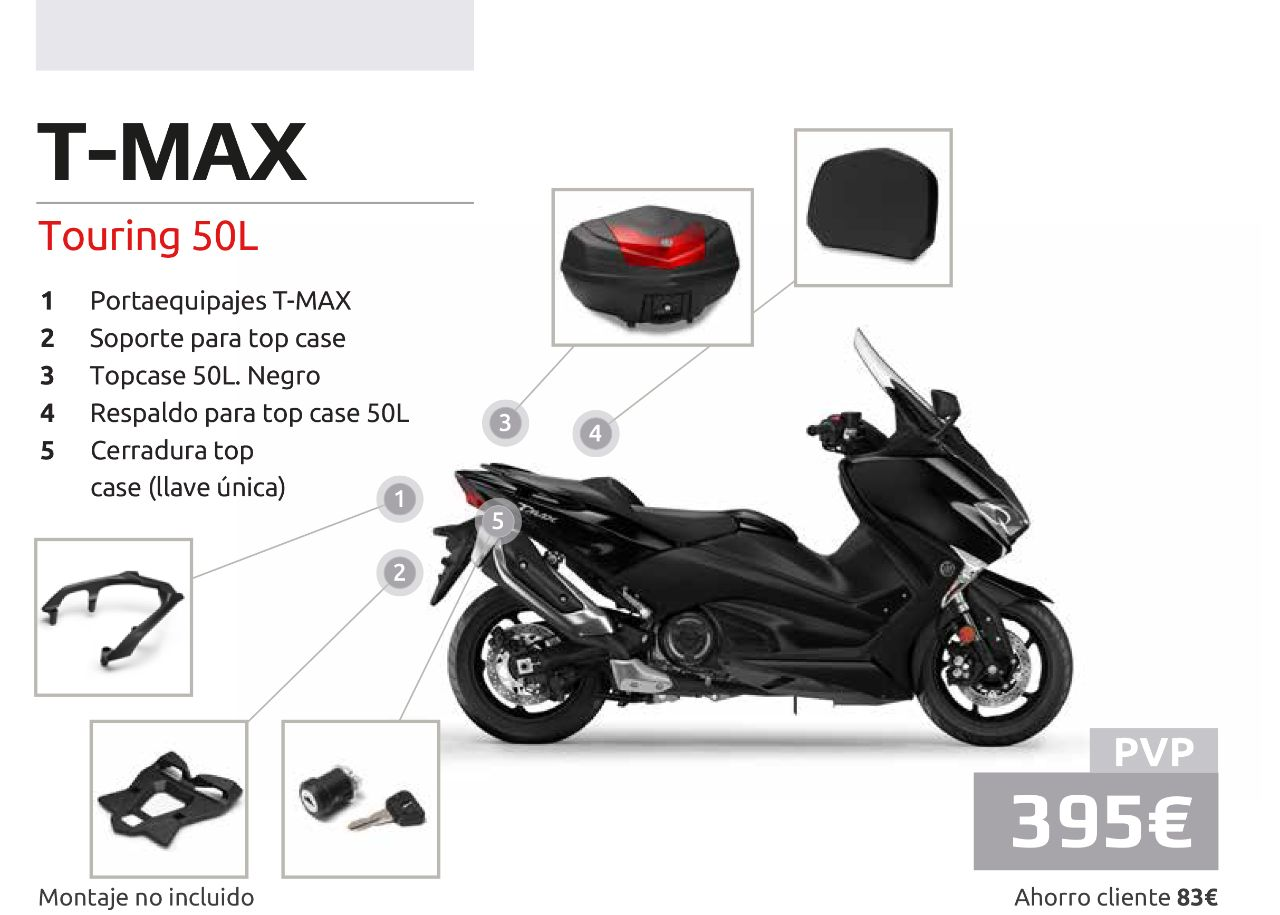 TMAX Touring Pack
