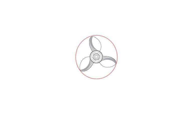 Propeller diameter