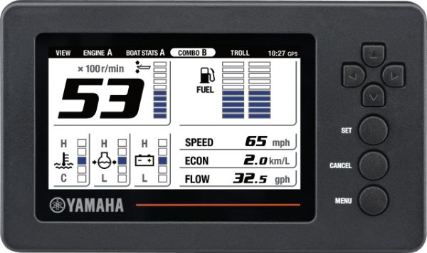 Yamaha 6YC Display
