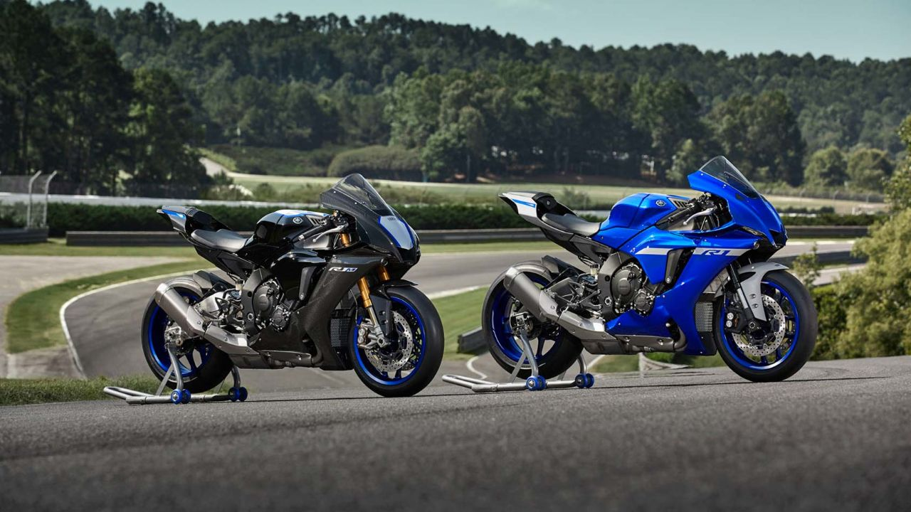 2020 YZF-R1 and YZF-R1M