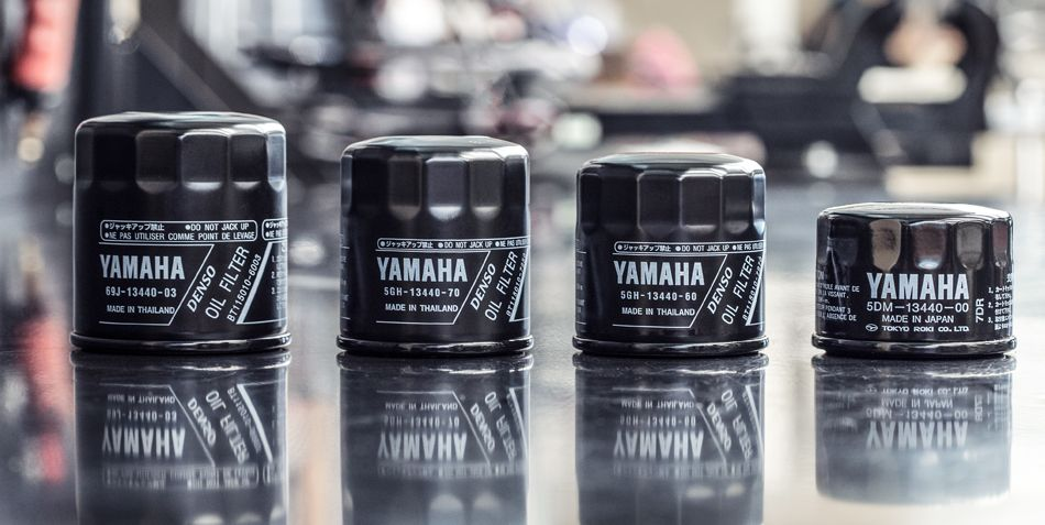 Genuine Yamaha Oil Filters